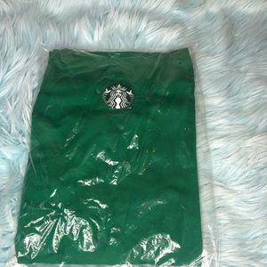 Authentic uniform Starbucks apron employee logo